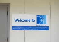 OSP Group Wall Mounted Welcome Sign